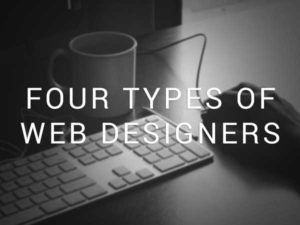 Four-types-of-web-designers