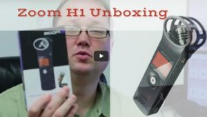 ZOOM H1 Unboxing