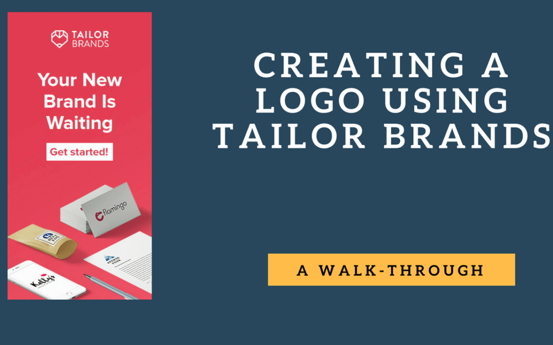 Creating a Logo using Tailor Brands