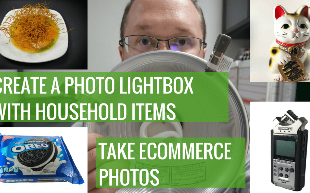 Making a photo lightbox for ecommerce photography