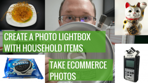 Create a Photo Lightbox with household items (1)