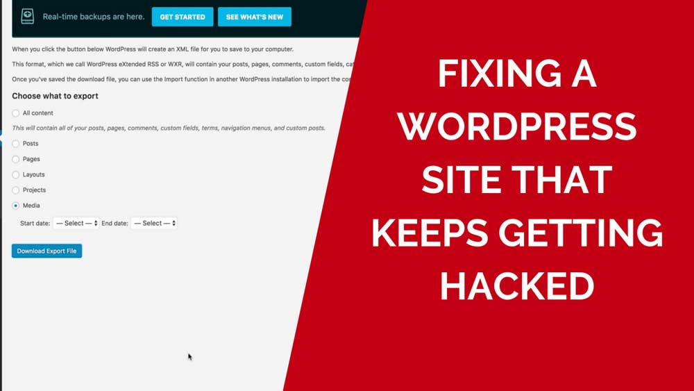 Fixing your hacked wordpress site